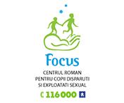 Centrul Roman pentru Copii Disparuti si Exploatati Sexual - Focus